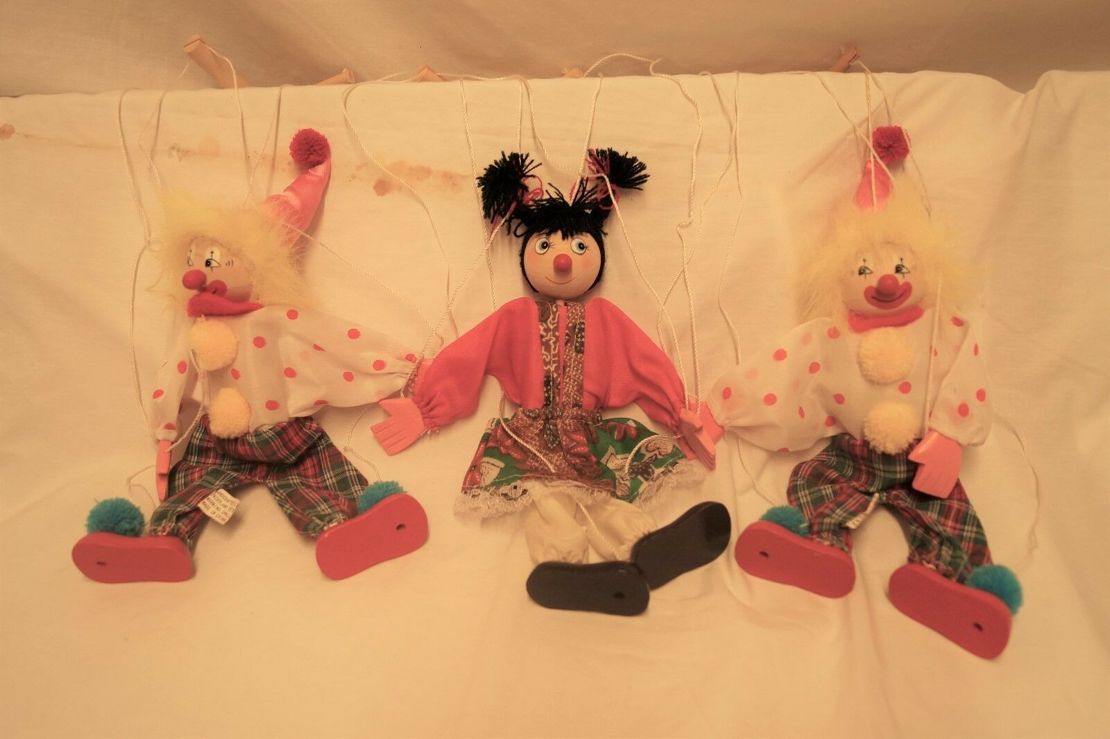 Marionettes, Wood - $30.00
