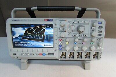 Tektronix Mso2024 Mixed Signal Oscilloscope 200 Mhz Scope1gs 4 Tpp201 P6316