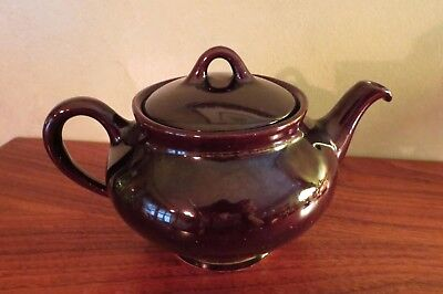 Royal Canadian Art Pottery Royal Dripless Brown Teapot