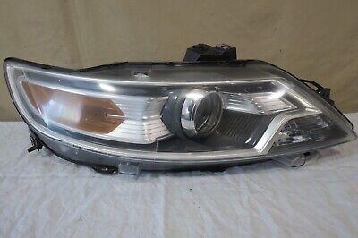 ✅ 10 11 12 2010-2012 Ford Taurus HALOGEN Regular Headlight Lamp Rh PASSENGER OEM Amber Tail Light Cap