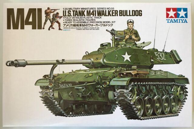 Tamiya 35055 M41 U.S.Tank M41 Walker Bulldog 1/35 Model Kit NIB