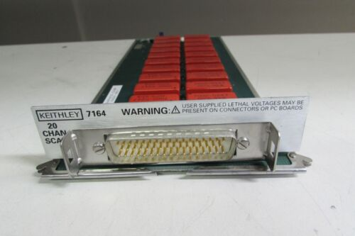 Keithley 7164 20 Channel Scanner Card