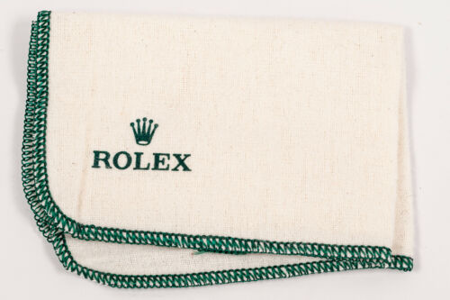 """Original Rolex Polishing Cloth! """"Rolex Only"""" Version! Great Condition!"""
