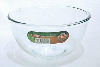 Pyrex 2L Schüssel Schale Obstschale Salatschüssel Glasschüssel Rührschüssel Pott