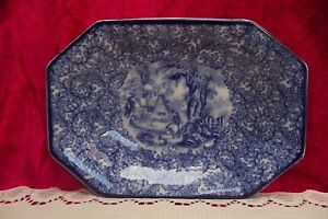 Vintage James Kent, Fenton ''Ye Olde Foley Ware'' Hexagonal Dish