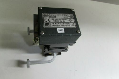 FMI FLANN MICROWAVE 22333-3E Waveguide Switch Relay