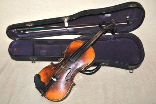 "Rare Antique JAVITOTTA BERGMANN ANDRAS hegedukeszito Budapest 1899 Violin 20"""