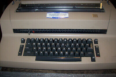 Ibm Selectric Typewriter With Cover And Accessories