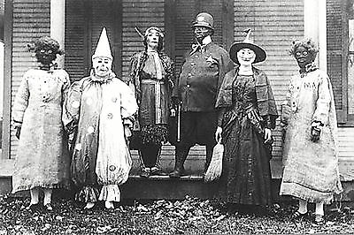 Homemade Scary Costume (Vintage Halloween Photo Old Creepy Homemade Costumes Scary-17