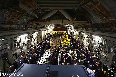 NEW 8x12 Photo Air Force sends C-17 Globemaster in Nepal Relief Flight
