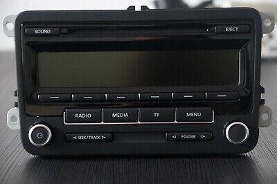 Original VW Autoradio RCD 310 1K0 035 186 AN mit Code und Handbuch, vom Händler