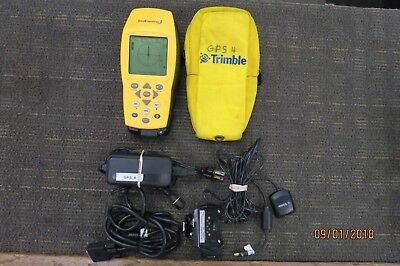 Trimble Geoexplorer 3 38376-00 Handheld Gs Receiver With Charging Base Extras