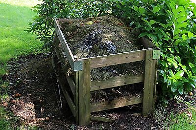 Compost bins are a cheap and easy way to boost plant growth