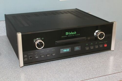 McIntosh MCD301 SACD/CD player with remote and FACTORY PACKAGING - LATE VERSION