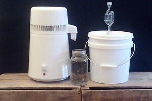 Easy Electric Countertop Alcohol Distiller Moonshine Whiskey Vodka Still Air