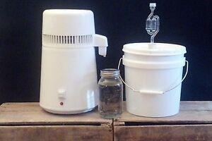 Easy Electric Countertop Alcohol Distiller Moonshine Whiskey Vodka Still Air