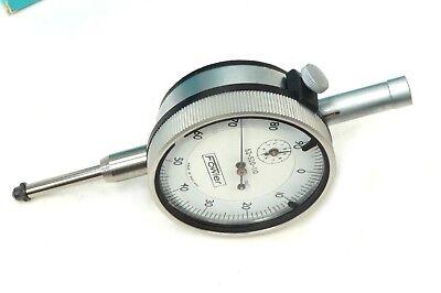 Fowler 1 Dial Indicator 52-520-110 Micrometer .001 Graduation
