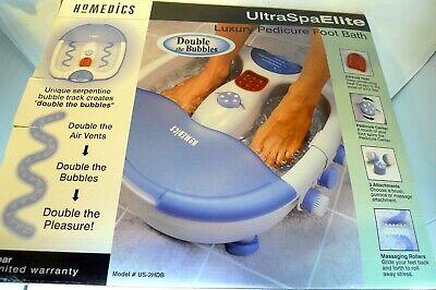 - Homedics Foot Luxury Pedicure Foot Bath Spa Infrared True Blue Products Gel Sock