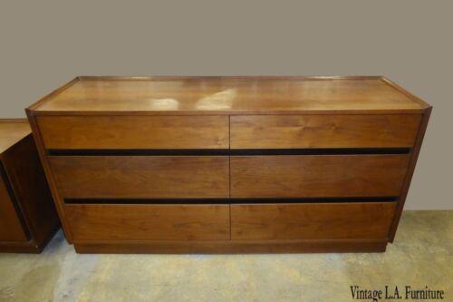 Vintage Dillingham Mid Century Danish Modern 6 Drawer Dresser ~ Merton Gershun