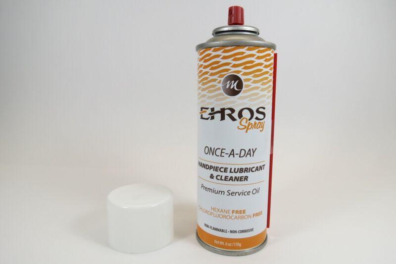 Dental Handpiece Lubricant Cleaner Spray /6 Oz | ERHOS