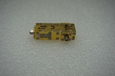 Agilent 5086-7998 Directional Coupler 110ghz 1.0mm Connectors 3-m