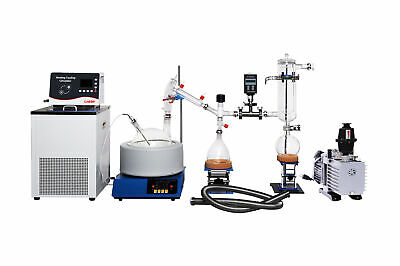 Lab1st 5l Short Path Distillation Complete Turnkey Package With Chiller Pump