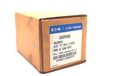 NEW EATON CUTLER HAMMER  10370H58 SOLENOID SIZE C 220V 60HZ