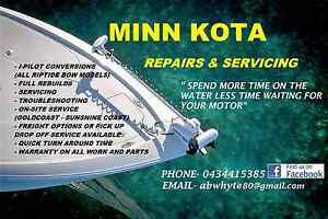 Minn kota repairs and servicing Petrie Pine Rivers Area Preview