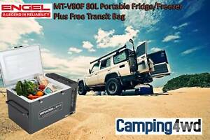 Engel MT-V80F 80L Portable Fridge/Freezer   Transit Bag 4wd $1799