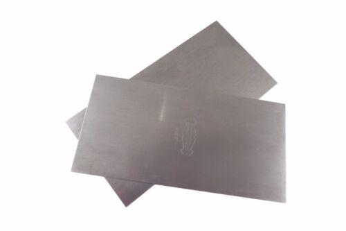 "Clifton 2 Piece Cabinet Scraper Set  3"" x 6"" Super Thin (0.015"" or .38 mm)"