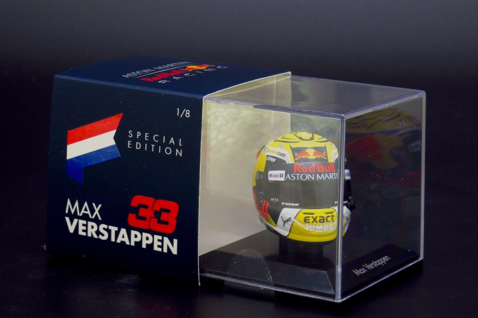 Max Verstappen Arai Helmet 1:8 Spark Austria GP Winner #33 2018 Limited 500 pcs