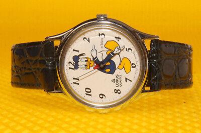 """Men's Vintage DONALD DUCK by LORUS / SEIKO """"V515-6000"""" Quartz Watch"""