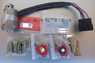 Ferrari 430 locks lock set kit ignition keys remote F430 Scuderia_Spider_16M key Keychain Remote Kit