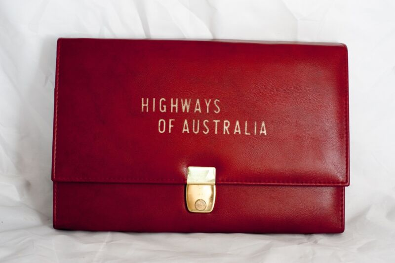 Domo & Co Map Case Highways of Australia & Mobil Map Tasmania Western Australia