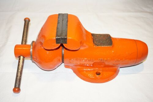 """Wilton Bullet Vise  4"""" Jaws No.4 Stationary"""