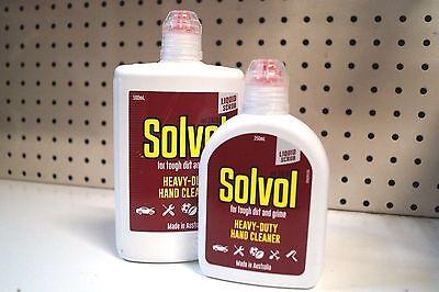 Heavy Duty Hand Cleaner liquid for Tough Dirt & Grime SOLVOL  - Liquid Hand Cleaner