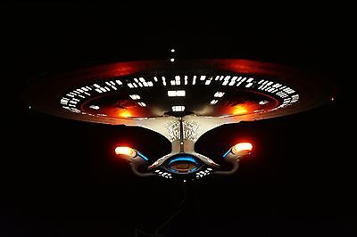 USS ENTERPRISE NCC-170-D NEXT GENERATION HUGE MASTERPIECE NO.0052/5000