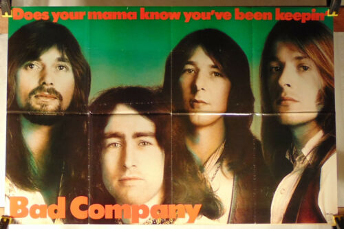 BAD COMPANY--Does Your Mama Know You