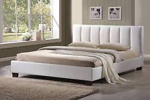 Modern Queen Luxury Versace Bed Frame Leather PU Black or White Brisbane City Brisbane North West Preview