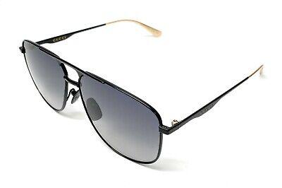Gucci GG0336S 002 Black Men's Authentic Sunglasses 60-13-B3