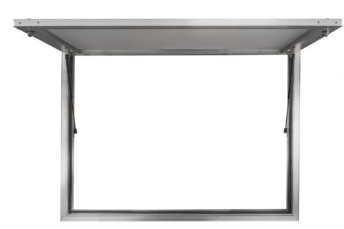 """Concession Stand Serving Window 60"""" X 36"""" Food Truck Service Awning - No Glass"""