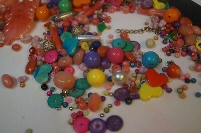 Mixed craft beads