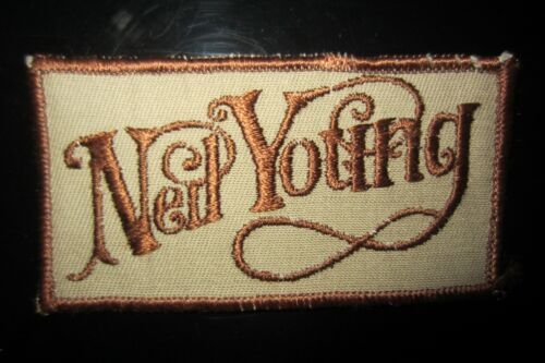 Vintage Neil Young Rock Music Patch In Very Good Condition!  Impossible Find!