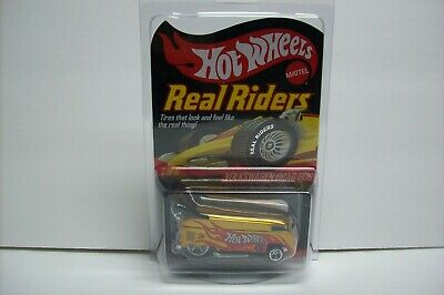 Hot Wheels HWC Real Riders Series VOLKSWAGEN DRAG BUS, #9274/10000 MIP, 2007!
