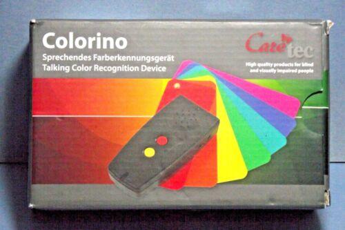 COLORINO TALKING COLOR IDENTIFIER LIGHT DETECTOR ENGLISH EUC BIN 3