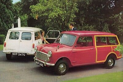 Austin Mini Countryman Estate Car Jumbo Fridge Magnet