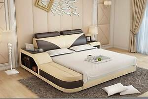 POLO Queen Bed, Genuine Leather, Was $1899, Now only $1399