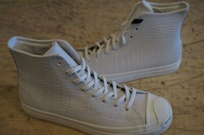 Converse Jack Purcell HI Pro New size 9 [Pop Trading Co.] white