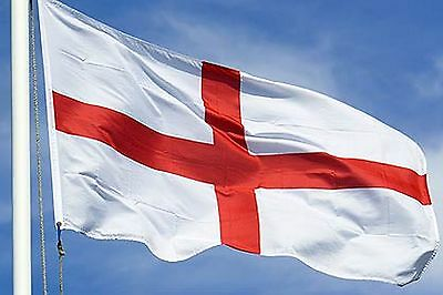 NEW 2x3 ft ENGLAND ST GEORGE'S CROSS UK BRITAIN FLAG better quality usa seller