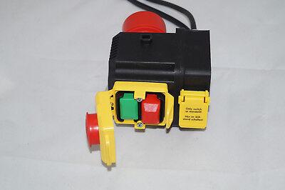 Tripus Anbauschalter Motorstarter Schutz-Motorschalter 16 A CEE Stecker Notstop - Motor Starter Schütz